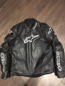 Alpinestar preferated leather jacket