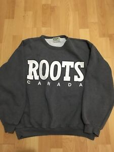 Roots Canada Athletic Sweater | Fits M-L