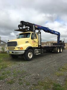 2007 Sterling with a WB60 Crane