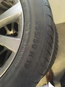 Pneus continental winter contact 255/50/R19