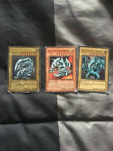 Yugioh cards blue eyes