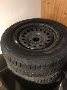 Firestone Winterforce 265/70r/17 Tires And Rims