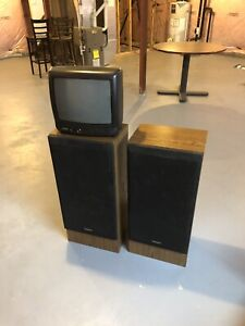 Free Speakers and tv