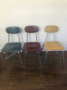 Beautiful retro vintage colourful chairs for sale!