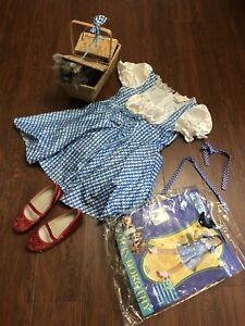 Dorothy Halloween Costume Wizard of Oz Size 5-7