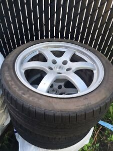 4 winters tires with rims(245/45/r18)