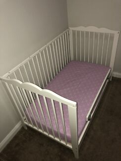 Ikea Hensvik Cot Toddler Bed Mattress Guard Rail