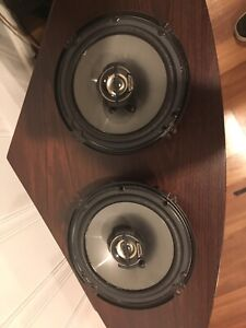 """Clarion 6.5"""" 2-way car stereo speakers SRG-1623R"""