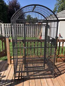 Très grande cage à perroquet (idéal pour Ara)