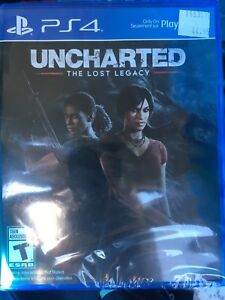 PS4 uncharted still in plastic