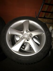 MAZDA MAGS 205/50R17  5 x 114.3