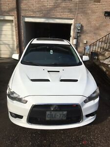 2009 Mitsubishi Lancer ralliart sport back
