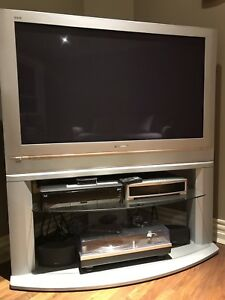 42 inch Panasonic Plasma TV with stand