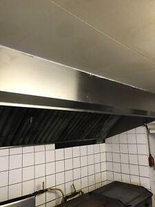 Hotte de cuisine retaurant 11 pieds
