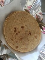 Home made fresh roti pick up now from eglinton and Victoria Park