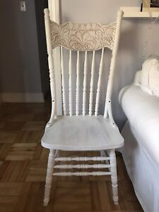 Shabby Chic Painted Wooden Chair