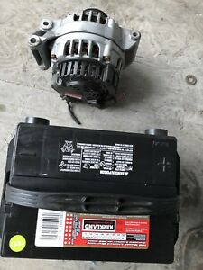 Chevrolet cavalier sunfire battery and alternator