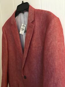 EXPRESS pink linen 40R blazer - priced to sell