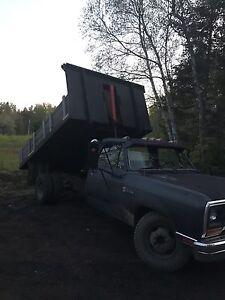 88 dodge 3500 dump truck