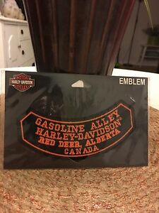 Gasoline Alley Harley Davidson Patch