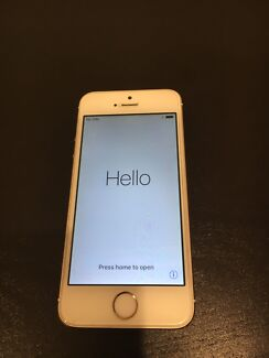 iPhone 5s 16GB Gold Unlocked Very good condition