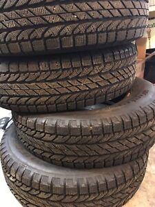 Four excellent winter tires for sale!