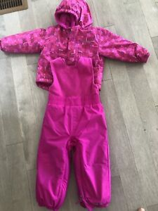 Girls size 12 months Columbia Snow Suit