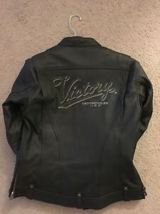 Lady Size M Victory Leather Jacket