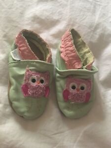Jack & Lily leather slippers (like robeez)