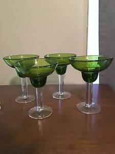 Large margarita glasses