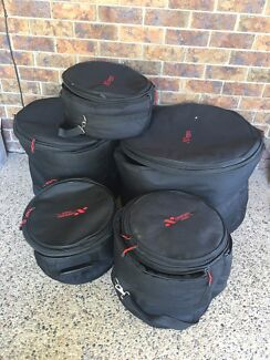 5 piece drum bag set