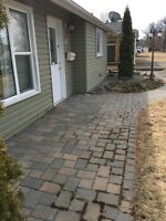 Interlock paving stone repairs