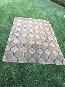 Brown patterned mat for sale