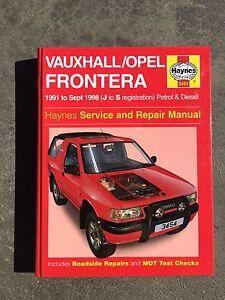 Holden Frontera Workshop Manual Huntly Bendigo Surrounds Preview
