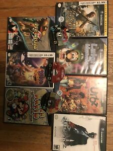 Gamecube games for sale or trade