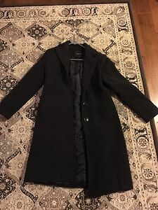 Woman's small wool and cashmere winter coat