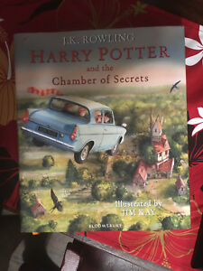 Harry Potter Chamber of Secrets Illustrated Edition