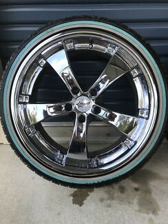 19x8.5 Starcorp Kaotic Alloy Wheels