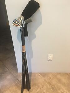 Bâtons de golf  en graphite.