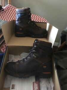 TIMBERLAND PRO SERIES STEEL TOE BOOTS 8 1/2