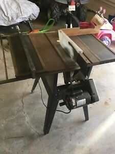 "10"" craftsman table saw"