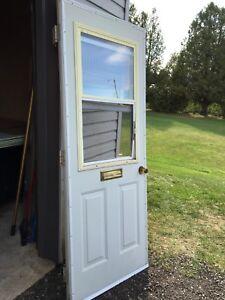 2 Doors-Steel/Insulated & Wooden Door/Hardware