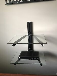 Glass TV Wall Mount Stand