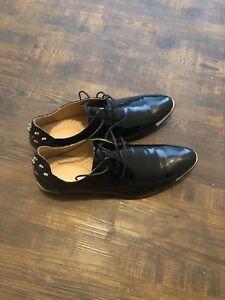 Croc leather shoes