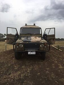 1989 Land Rover defender 110 diesel manual 4x4 Hoppers Crossing Wyndham Area Preview