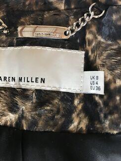 Karen Millen Pony skin Jacket