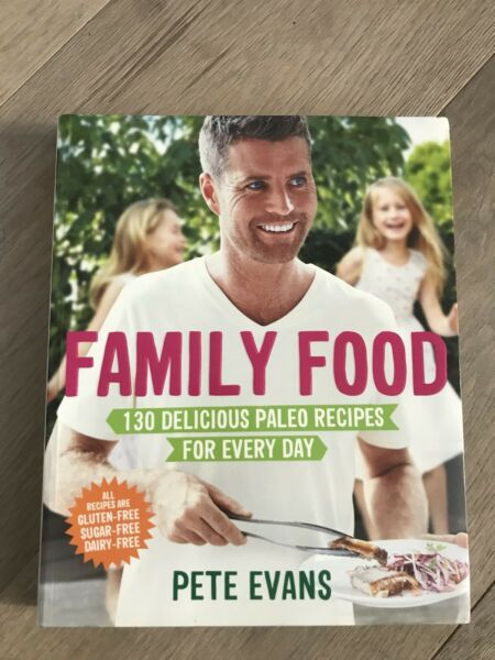 Recipe book by pete evans family food cooking accessories recipe book by pete evans family food cooking accessories gumtree australia inner sydney waterloo 1185449198 forumfinder