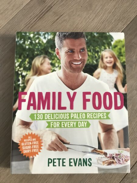 Recipe book by pete evans family food cooking accessories recipe book by pete evans family food cooking accessories gumtree australia inner sydney waterloo 1185449198 forumfinder Images
