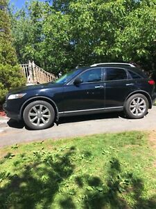 2004 Infiniti fx45 AWD with tech package