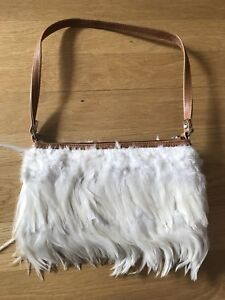 White feather Angel Purse